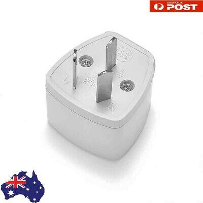 3 pin ConverteTravel Adapter International UK USA EU to AU Australian Power Plug