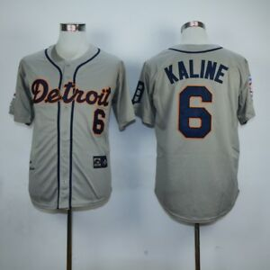 DETROIT TIGERS AL KALINE #6 HALL OF FAME JERSEY Size (XL)