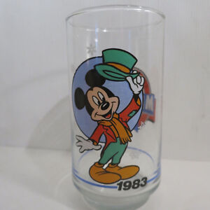 Complete Set of 6 Mickey Mouse Glasses Sunoco Canada 1928 - 1988 Kitchener / Waterloo Kitchener Area image 7