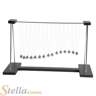 Pendulum Wave Newtons Cradle Executive Physics Kinetic Science Toy Gift Gadget