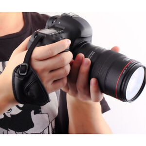 Brand New Adjustable Hand Wrist Strap Grip For Digital DSLR SLR