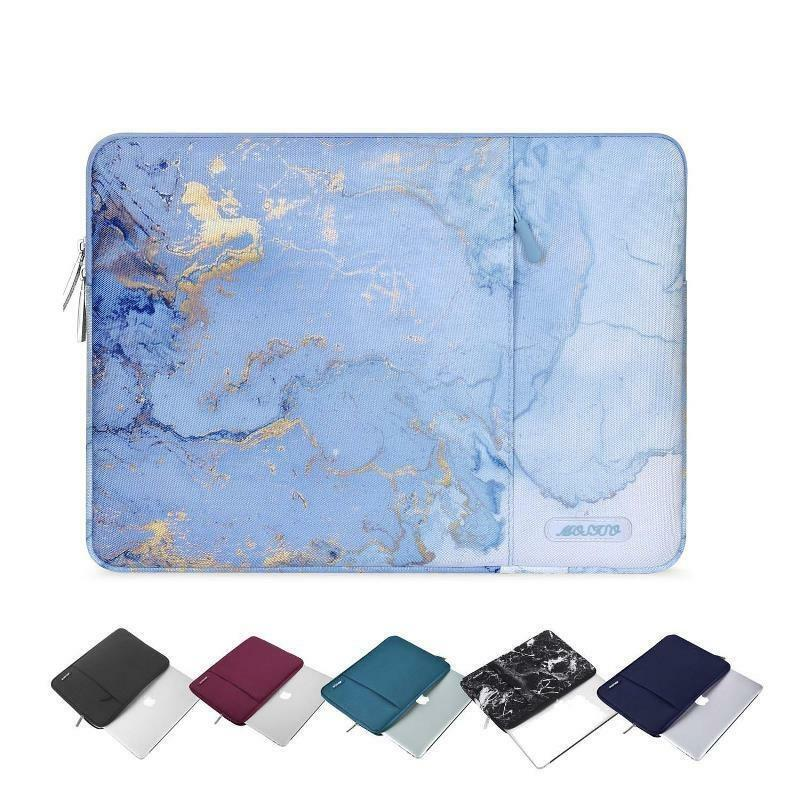 Laptop Sleeve Liner Polyester Zipper 13Inch Waterproof Solid For Dell HP Macbook