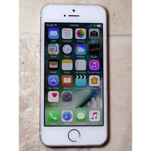 Apple iPhone 5 16GB white color locked to Bell USED works good