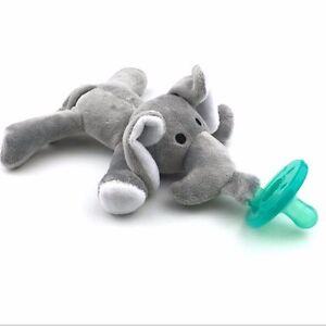 Wubbanub Style Soother Pacifier Dummy Elephant Uk Er Free Postage