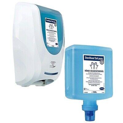 Hartmann Dosierspender CleanSafe touchless + 10 x 1 Liter Sterillium Gel pure
