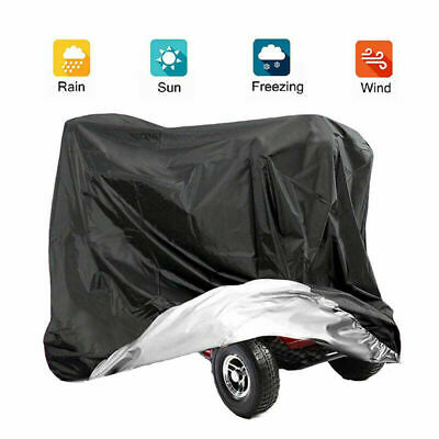 Large Mobility Scooter Storage Shelter Rain Cover UV Protector Waterproof Cover