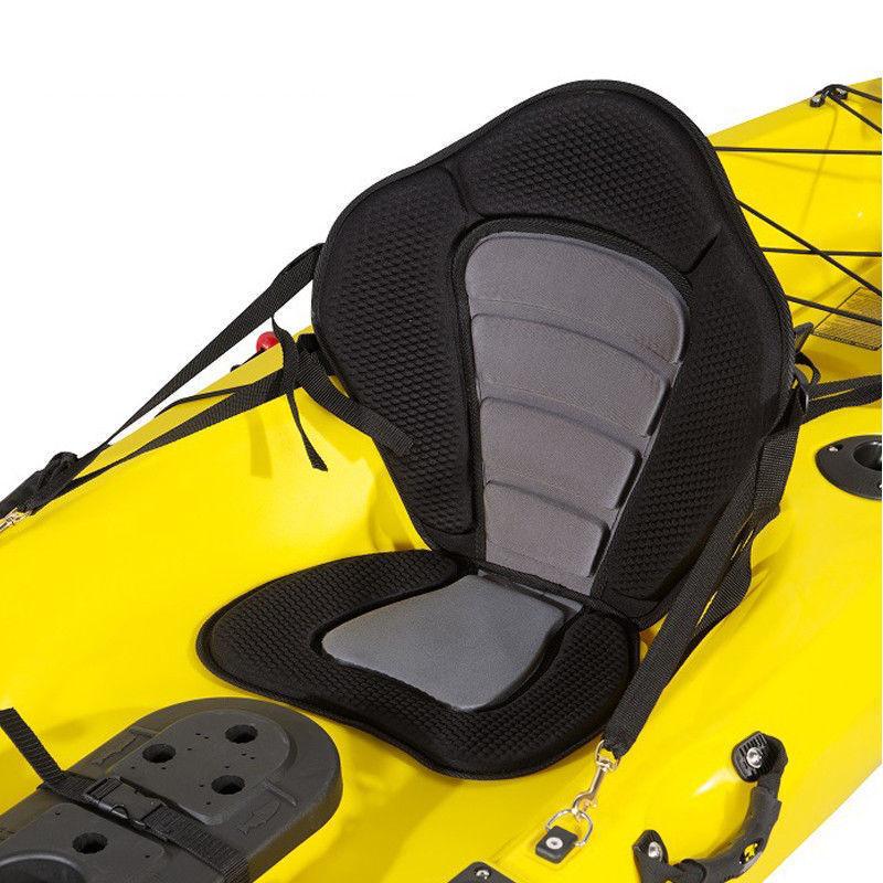 Adjustable Padded Kayak Seat Back Pack Rest Bag Canoe Backre