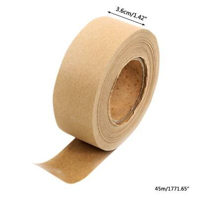 Brown Masking Tape For Picture Framing And Box Sealing 36mm Wide X 45m Long
