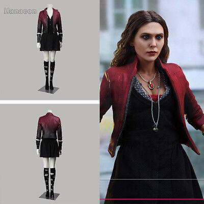 The Avengers Scarlet Witch Wanda Maximoff Cosplay Costume Clothing Women - Wanda Maximoff Costume