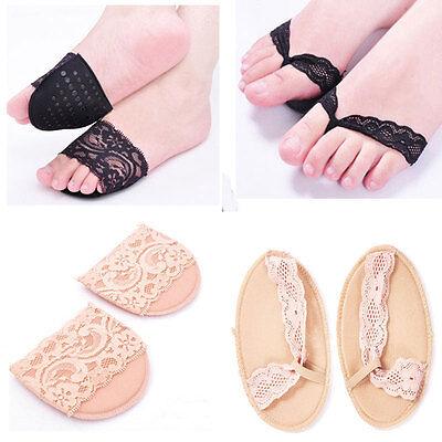 New Women Comfortable High-heeled Shoes Lace Antiskid Slip Forefoot Stealth Ottomans Socks Underwear & Sleepwears