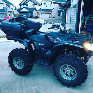 2008 grizzly 700fi Swap/trade for side by side