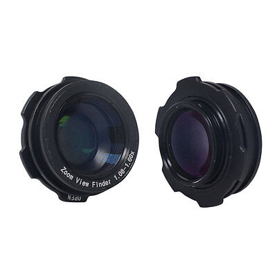Mcoplus 1.08x 1.60xZoom Viewfinder Eyepiece Magnifier for Ca
