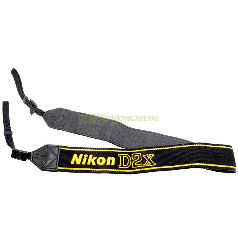 Nikon AN-D2x Tracolla originale per fotocamera digitale D2x. D2 X genuine strap.