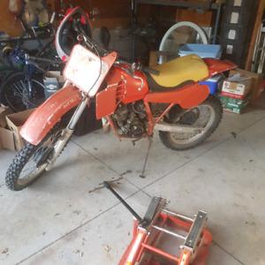 1982 honda cr125r