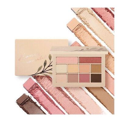 MOONSHOT Honey Coverlet Eyeshadow Palette 10 Colors Pearl Matte Shadow Yoo In-na
