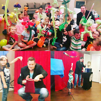 Entertainer, Most exciting Birthday magic show! Best price!