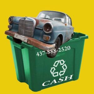 ♦♦ ON-SPOT CASH FOR JUNK CARS ♦♦ Get Up to $1,999 ♦ 437-888-2520