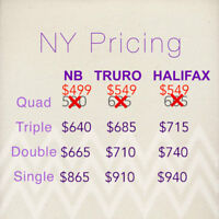 $549 BUS TOUR TO NEW YORK / NY (OTHER TRIPS CAPE COD , SHOPPING