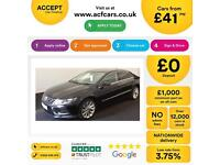 Volkswagen CC 2.0TDI ( 140ps ) BMT 2013MY GT FROM £41 PER WEEK.