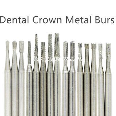 Dental Steel Carbide Tungsten Bur Drill Cut High Speed Handpiece 60 Types New