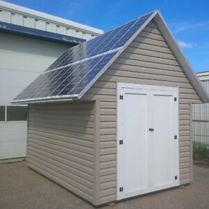 Get these Solar Sheds to help power your house!