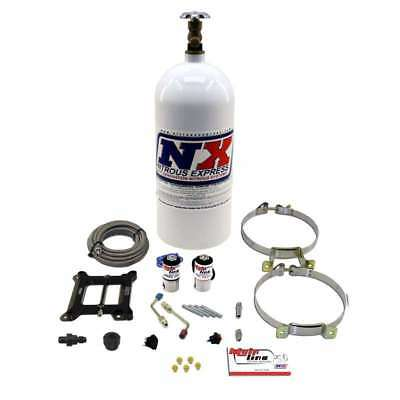 Nitrous Express Mainline Holley 4150 4bbl Plate Kit System  Bottle New 100-250hp