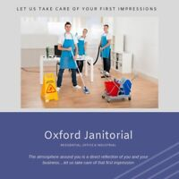 Oxford Janitorial- Residential, Office & Industrial