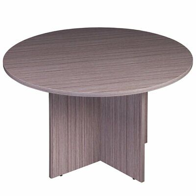 Boss Office Holland 42 Round Conference Table In Driftwood