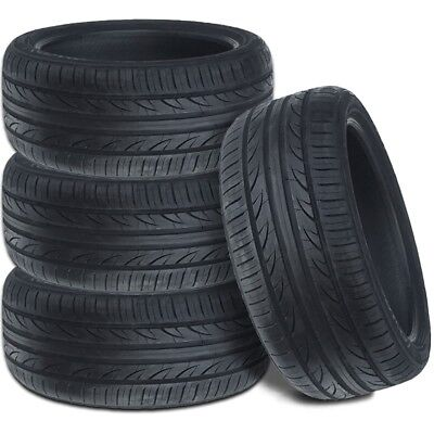 4 New Lexani LXUHP 207 21555ZR18 95V All Season Performance Tires