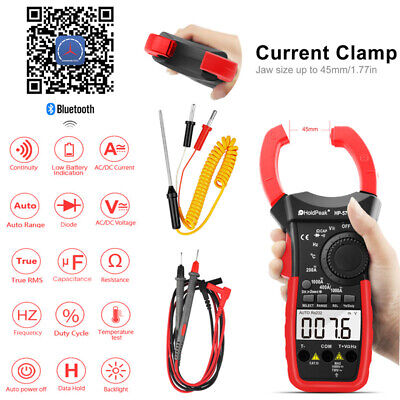 Handheld Digital Clamp Meter Acdc Volt 4000 Counts 1000a Tester Multimeters Us