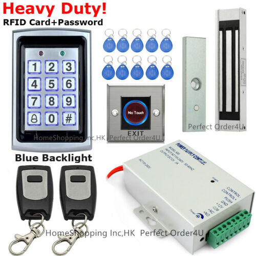 125KHz RFID Card+Password Security Door Access Control System+Magnetic Lock TOP