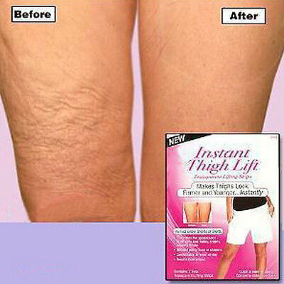 Instant Thigh Lifting Tape Banish Anti Cellulite Slim Firm Flabby Sagging 8PCS