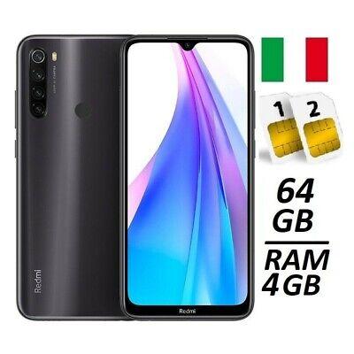 XIAOMI REDMI NOTE 8T DUAL SIM 64GB 4GB RAM GREY ITALIA NO BRAND