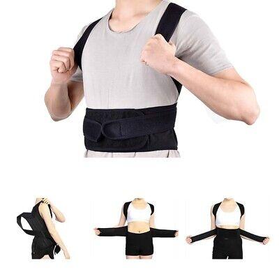 Verstellbare Rücken Unterstützung Gürtel (Verstellbar Gürtel Körperhaltung Korrektur Rücken Unterstützung Korsett DE Neu )