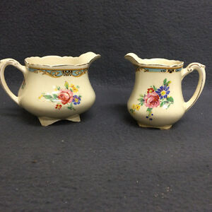 Collectible Antique Wedgwood & Co England Creamer Set London Ontario image 1