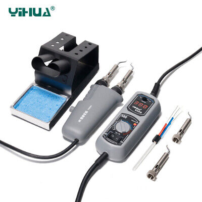 Yihua 938d 110 220v Portable Hot Tweezers Mini Soldering Iron Station Heat Core