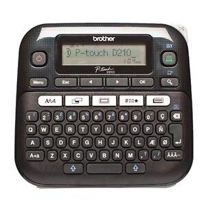 Brother P-Touch D210 Beschriftungsgerät Beschriftungsmaschine Labelprinter NEU
