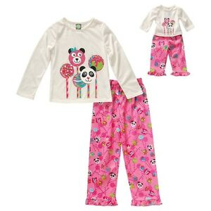 American Girl PJ Set for Real girl and Doll (size 8) London Ontario image 1