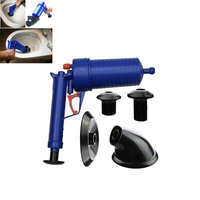 New Air Power Drain Blaster Gun High Pressure Manual Plunger