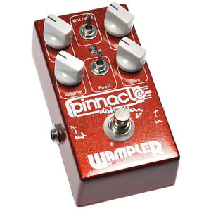 Wampler Pinnacle Overdrive/Distortion/Marshall in a box.