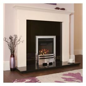 Flavel high efficiency calibre gas fire, lpg gas