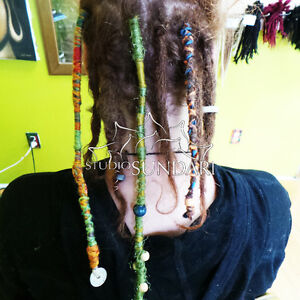 HAIR WRAPS and FEATHER HAIR EXTENSIONS MONTREAL