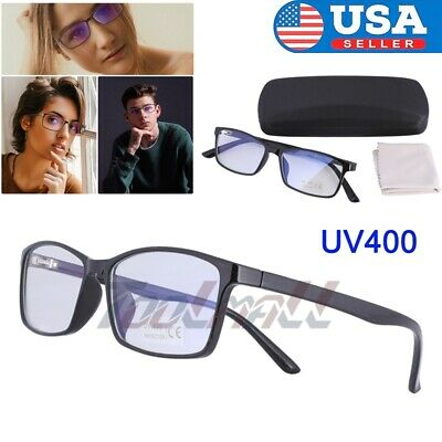 Gaming Glasses Blue Light Blocking UV400 Computer Phone Laptop for Men & (Mens Computer Glasses)
