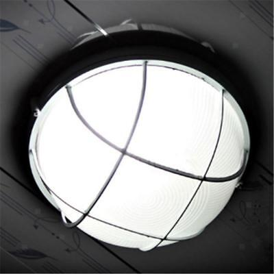 Large Round Sauna Light Safety Grid Lampshade Bulkhead Light Guard Outdoor