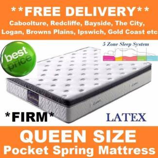 FREE DELIVERY!! Queen LATEX Orthopedic Mattress - Brand New New Farm Brisbane North East Preview