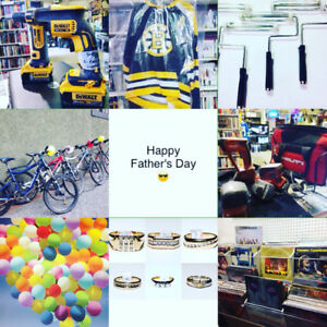 Happy Fathers Day Sale - Tools Drills Saws Bikes Rings Records +