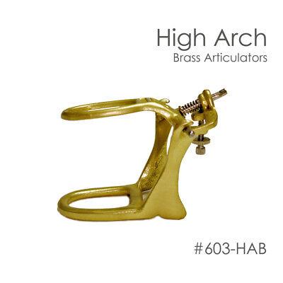 Dental Articulator Brass Denture High Arch Box Of 6
