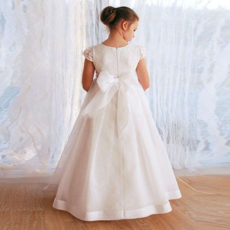 Wedding Flower Girl Dresses Communion Party Prom Princess Pageant Bridesmaid