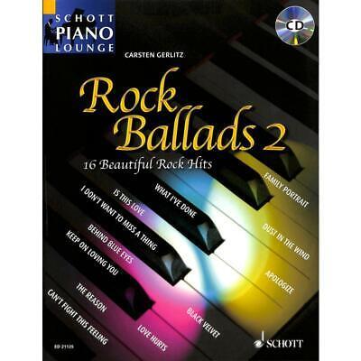 Klavier Noten- ROCK BALLADS 2 - mit CD -16 beliebte Balladen gebraucht kaufen  Solingen