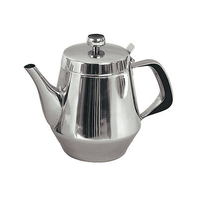 TEAPOT  STAINLESS STEEL 20 oz. FOR RESTAURANT OR HOME USE NEW!
